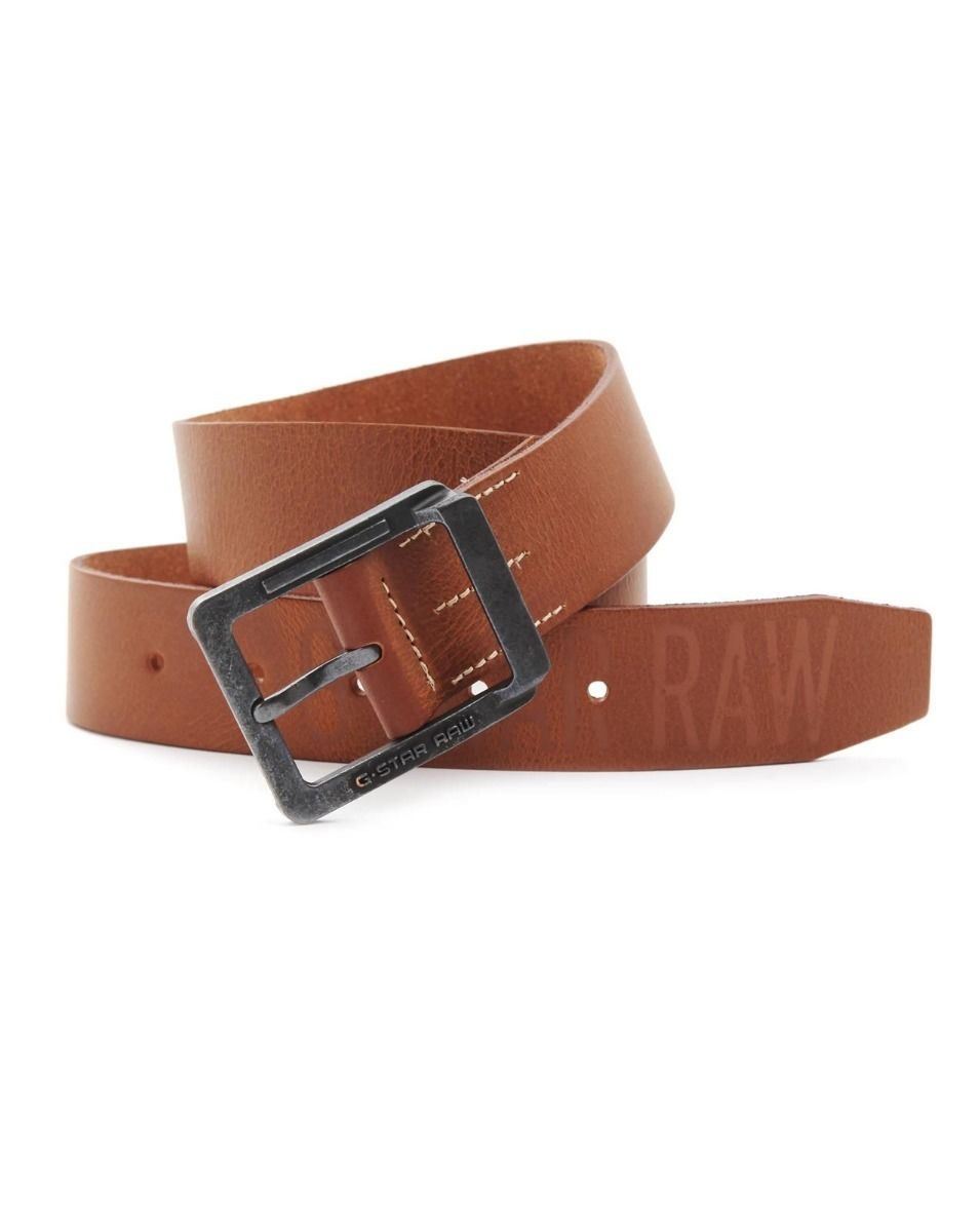 G-Star Raw Co Link Leather Belt Brown Size 95 BNWT 100/% Authentic
