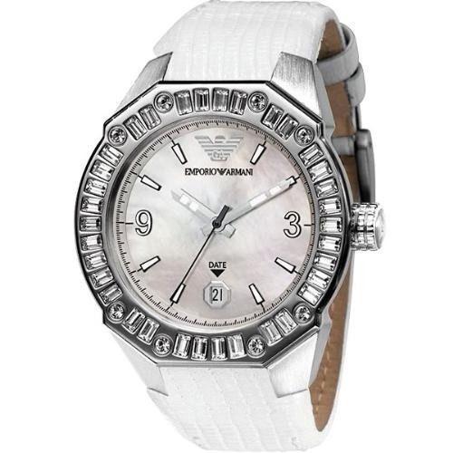 Emporio Armani Ladies Sport Chronograph Watch AR0664 $445 BNIB 100% Authentic  - $249.11