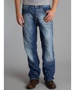 G Star RAW YIELD Loose Jeans in Medium Aged Stuck Denim, Size W33/L32 $190 - $99.95