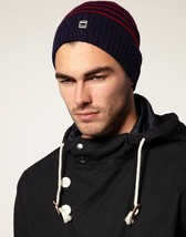 G-Star Raw Correctline CL Justin Stripe Beanie Hat in Shade BNWT 100% Authentic - $42.11