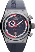 Emporio Armani AR6107 Men's Titanium Chronograph Watch BNWT/ Gift Box $695 - $375.11