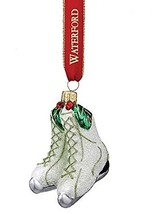 Waterford Holly Glitter Ice Skates Ornament - $55.00