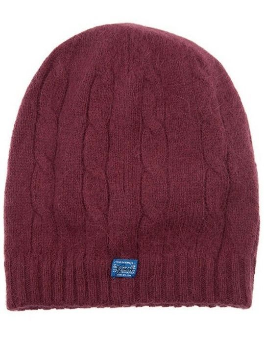 a00bb365b24 G Star Raw Woman s Charlie Beanie Hat in Chateaux Red BNWT 100% Authentic