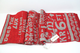 Diesel  2-Milisca Scarf Red BNWT 100% Authentic UNI Made In Italy - $45.00
