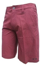 Oakley Mens Spark Dress Golf Short in Red Mahogany, Size 30 BNWT Authentic - $55.00
