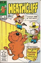 Marvel Heathcliff #2 Secret Of Captain Katt's Treasure Funny Animal Hijinks - $2.95