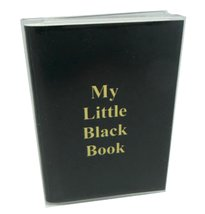 My Little Black Book Password Address Book - Small - $3.43
