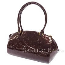 LOUIS VUITTON Sherwood PM Vernis Amarante M91493 Shoulder Bag Authentic ... - $737.25