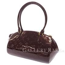 LOUIS VUITTON Sherwood PM Vernis Amarante M91493 Shoulder Bag Authentic ... - $737.25