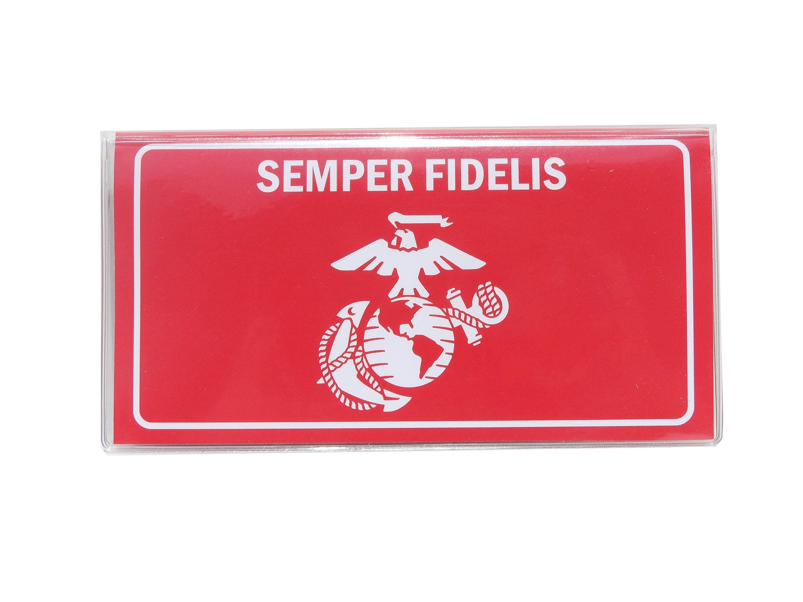 buy popular ae97c a58bf Marines Checkbook Cover Includes Register & and 50 similar items