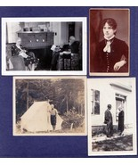(8) FLINT FAMILY Monson Maine Photos - John R, Hattie, Levi R., John W. - $139.50