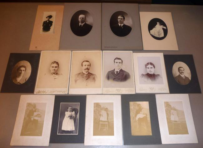 Primary image for (15) WILLIAM A. HEAD & GEORGE FAMILY Shelburne & Bartlett NH Photos