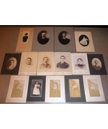 (15) WILLIAM A. HEAD & GEORGE FAMILY Shelburne & Bartlett NH Photos - $259.50