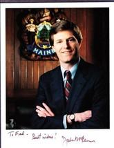 "Maine Governor & Congressman John ""Jock"" McKernan Signed Photo & Letter - $29.75"