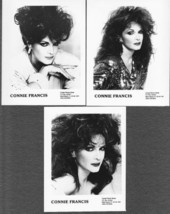 Connie Francis (3) Official Promotional 4 x 5 P... - $17.50