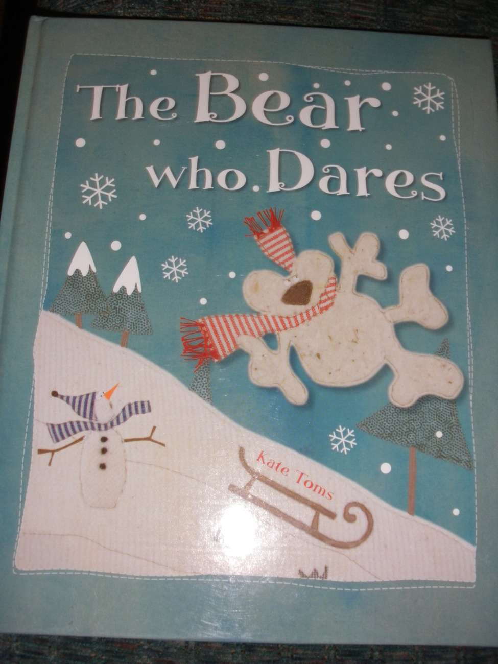 The Bear who Dares, children's book, by Kate Toms