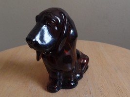 Vintage BASSET Hound DOG Avon Perfume Decanter Bottle~Empty~1970's - $8.00