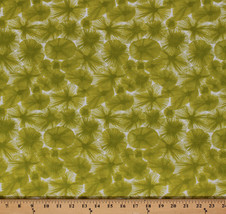 Cotton Ty Pennington Water Flower Floral Cotton Fabric Print by the Yard M709.05 - $8.94
