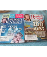 Lot of 5  Large Print Readers Digest Magazines - $14.99