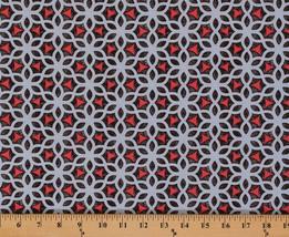 Cotton Ty Pennington Kimono Lacy-look Medallion Floral Fabric Print BTY M709.06 - $8.94