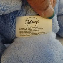 Disney Winnie the Pooh Eeyore Stuffed Plush Toy Blue Pink  image 5