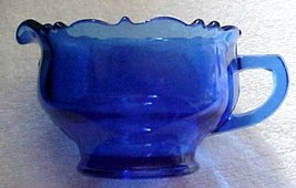cobalt blue-Mt. Pleasant-Double Shield- creamer... - $9.99