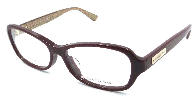 b4e5b4e84a9f Jimmy Choo Rx Eyeglasses Frame JC 112 F EMU 53-14-140 Burgundy Glitter  Asian Fit -  109.76