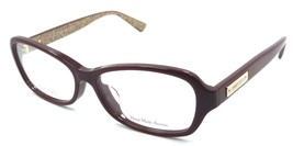 Jimmy Choo Rx Eyeglasses Frame JC 112/F EMU 53-14-140 Burgundy Glitter A... - $109.76