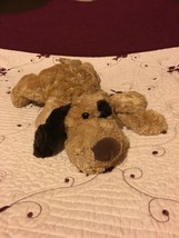 Brown Dog With Patch Color Eye 16 Inches No Brand Tag Gone Stuffed Plush... - $5.00
