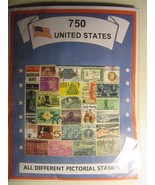 US OLD TIMER STAMP LOT ALL DIFFERENT USED WELL MIXED 750 DIFFERENT FREE ... - $24.74