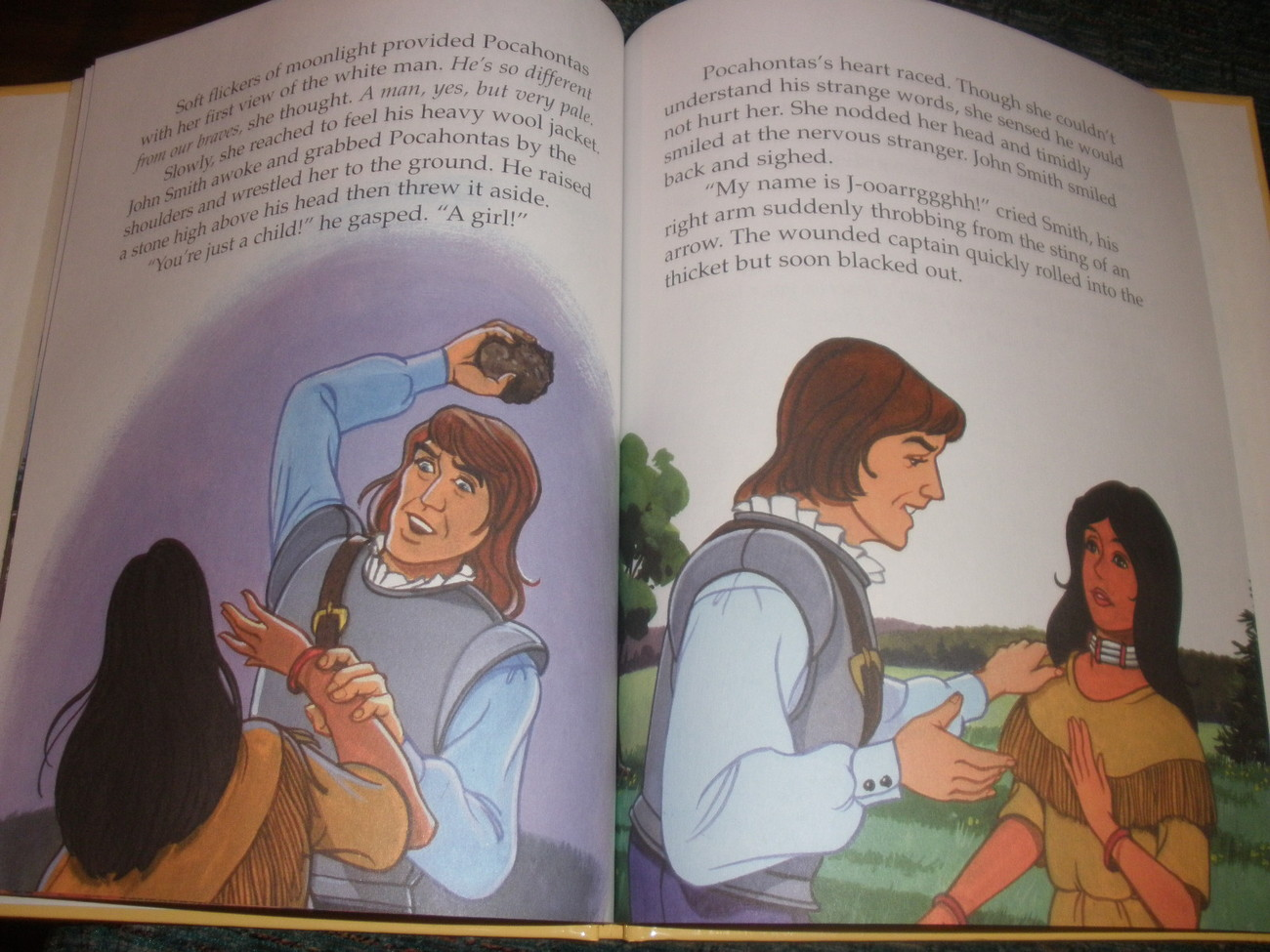 Pocahontas children's book, by Andy Holmes