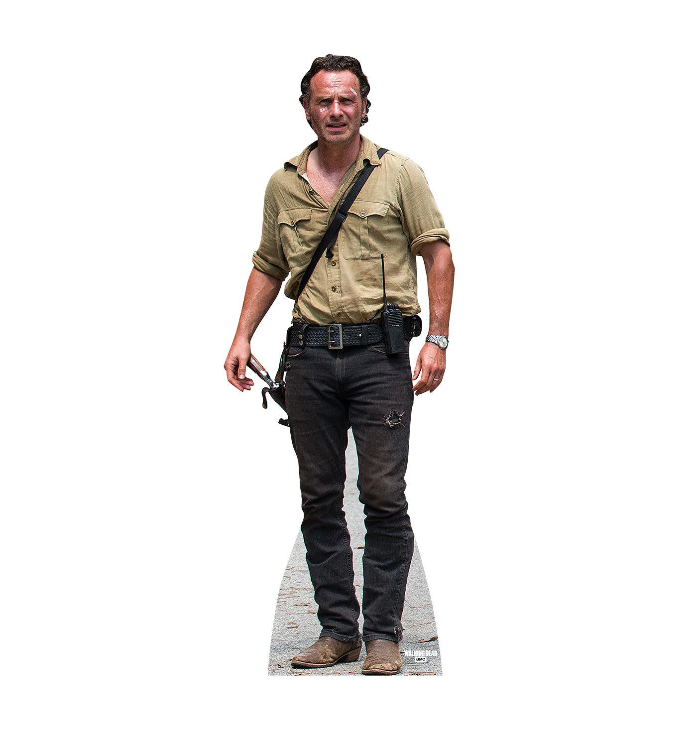 RICK GRIMES WALKING DEAD LIFESIZE CARDBOARD STANDUP STANDEE CUTOUT 2236 - $39.95