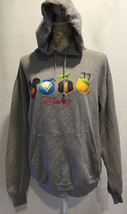 Disney Direct Mickey Mouse Donald Duck Pluto Goofy Gray Sweatshirt Size SM - $29.32