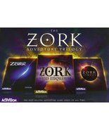 The Zork Adventure Trilogy  - $200.00