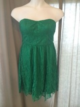 NEW~Thistlepearl~Urban Outfitters Dress NWOT~12~Green~Lace - £21.71 GBP