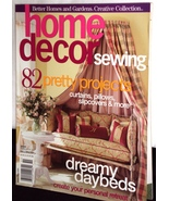Better Homes & Gardens Home Decor Sewing Magazi... - $5.99