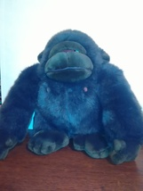 1988 TSURUYA Doll Co 11 inch plush gorilla Dakin - $14.95