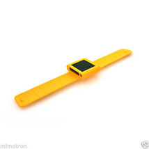 AXION AN1115 6th GENERATION IPOD NANO SLAP-ON WRIST BAND HOLDER - YELLOW - $7.99