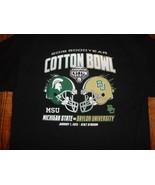 Black Michigan State Spartans 2015 Cotton Bowl NCAA Football tshirt XL E... - $19.06