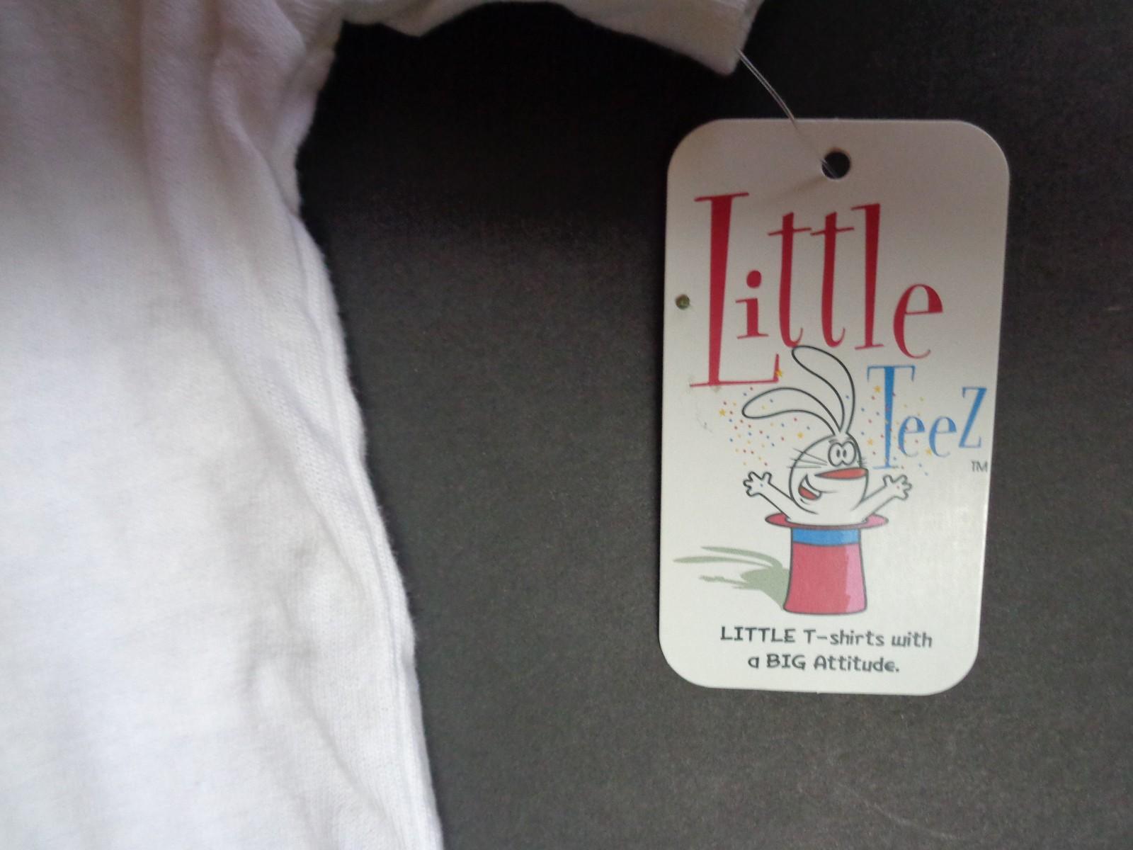 LITTLE DEMOCRAT Toddler T-Shirt NWT Sz 4T 100% Cotton Little Teez