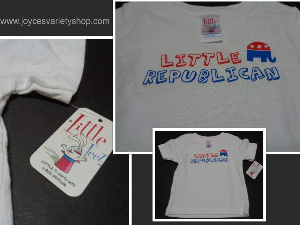 Little republican t shirt collage