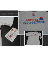 LITTLE REPUBLICAN Toddler T-Shirt NWT Sz 6 Months 100% Cotton Little Teez - $7.99