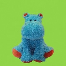 Blue Hippo w/orange accents iPetPals Stuffed An... - $35.63