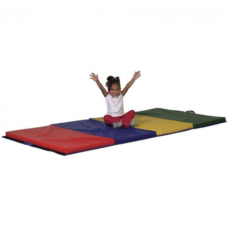 Kids Tumbling Mat Gymnastics Cheerleading Folding Dance