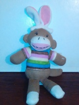 12 inch plush Easter sock monkey - $5.00
