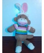12 inch plush Easter sock monkey - $5.00