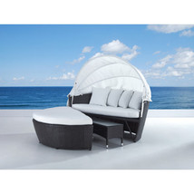 NEW! SYLT LUX Covered Daybed with Cushion - $2,514.99