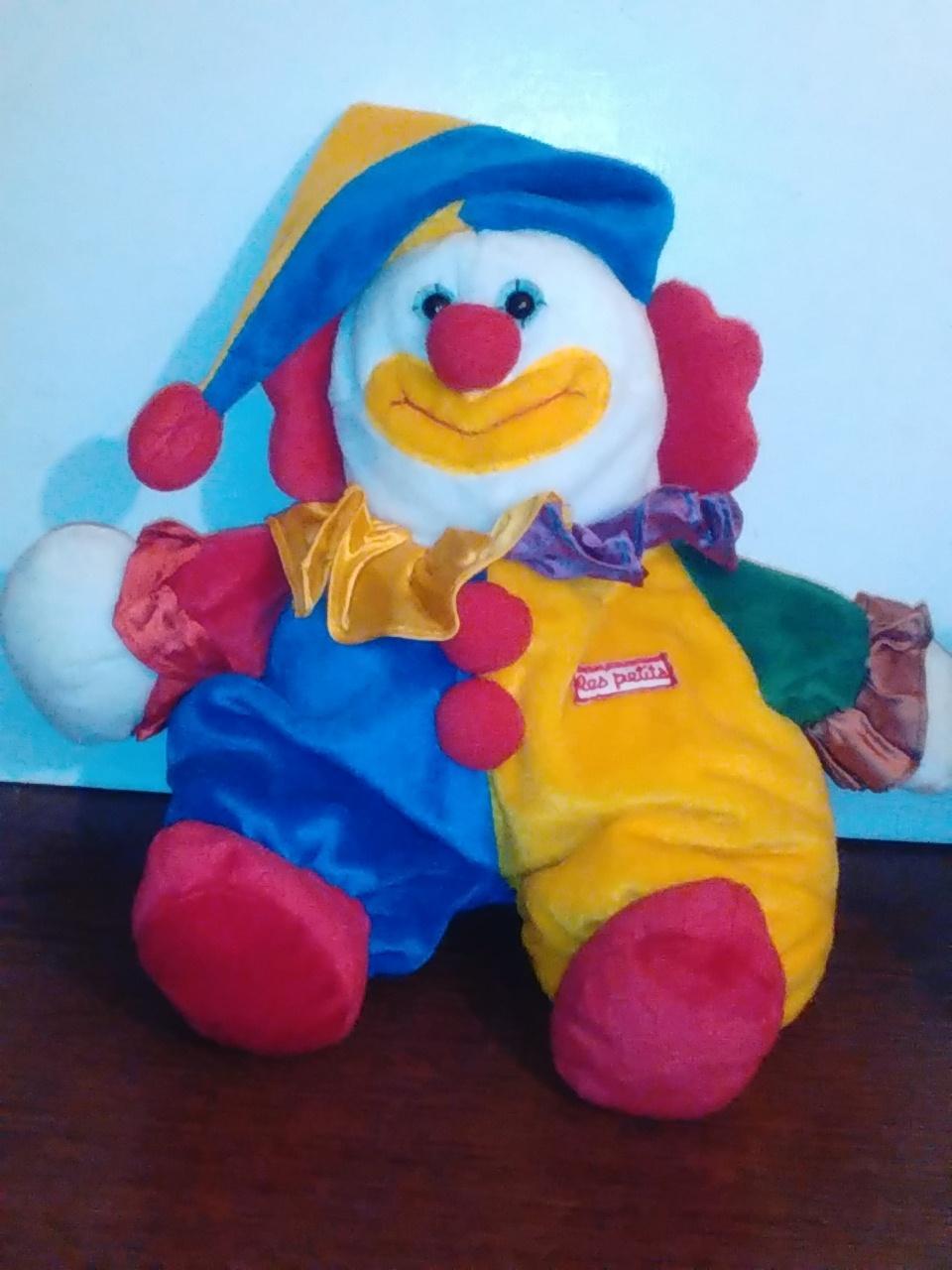 """Le Petits 11"""" plush clown"""