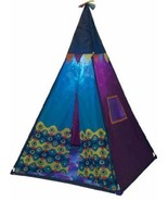 Teepee Play Tent W Lights Preschool Pretend Hut Girls Fort Kids Hang Out... - $59.35