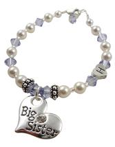 Sterling Silver Letter Bead Bracelet Big or Lil... - $25.50